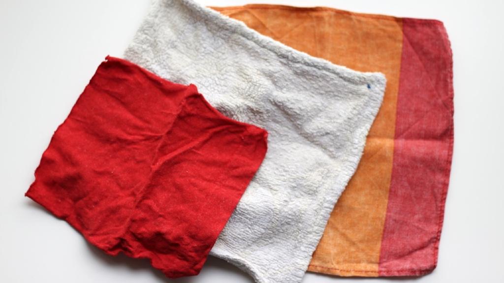 Die drei Varianten der selbstgemachten Feuchttücher